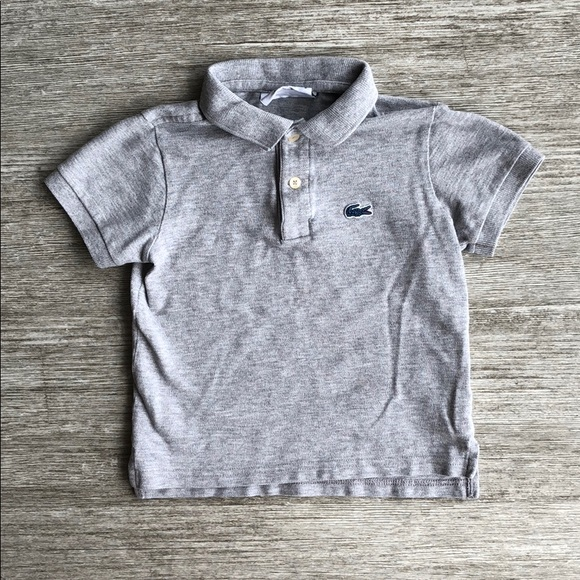 9ed0871b3 Lacoste Shirts & Tops | Toddler Boys Polo | Poshmark